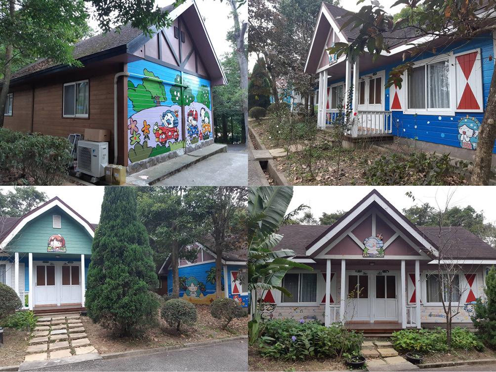 世界唯一安徒生小木屋聚落在西湖渡假村